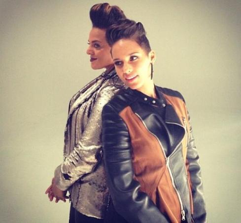 Marsha & Alicia