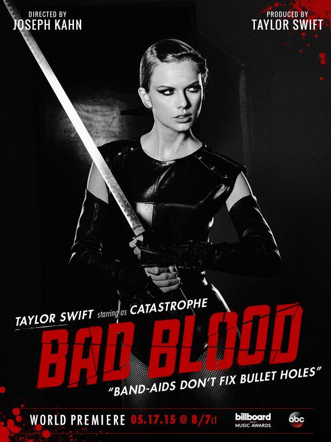 "Taylor Swift premieres ""Bad Blood"" music video | Hamada ..."