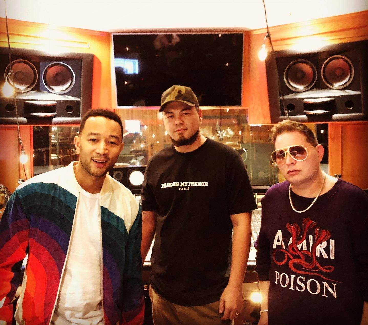 John Legend enlists Scott Storch, Sick Drumz for new collaboration