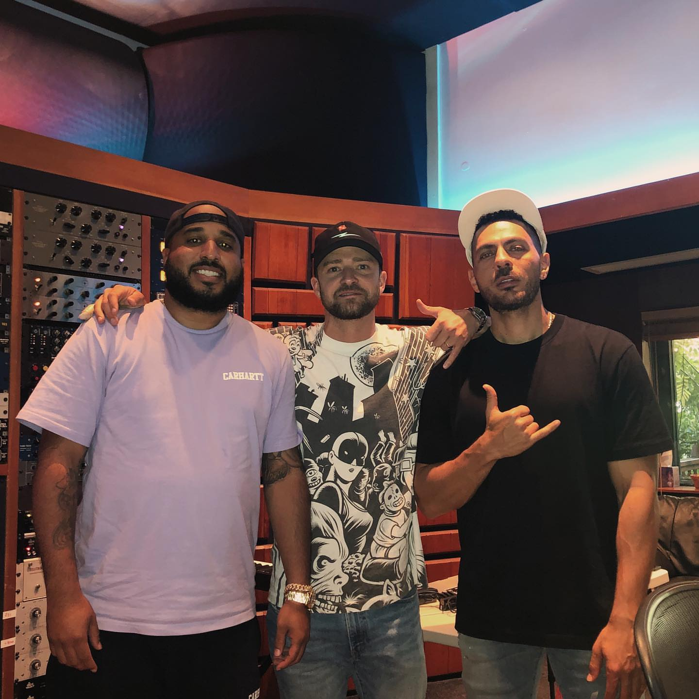 Justin Timberlake reunites with Rob Knox for new